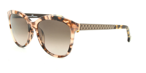 Carolina Herrera SHE647 01GT DARK BROWN / LIGHT HAVANA / BROWN GRADIENT